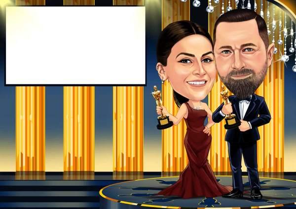 Bei der Oscar-Verleihung