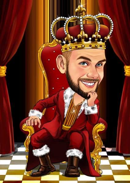 Ich bin hier der König