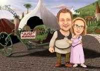 Shrek-liche Hochzeit