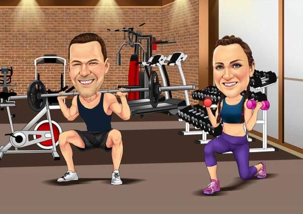 Fitness zu zweit