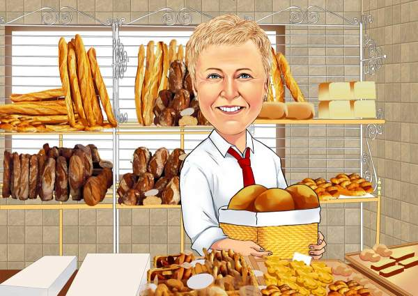 Bäckerei Verkäuferin
