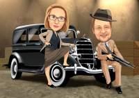 Der Raubzug- Bonny and Clyde