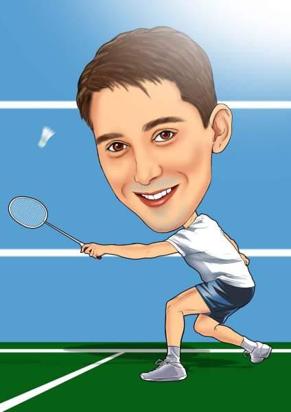Badminton clear