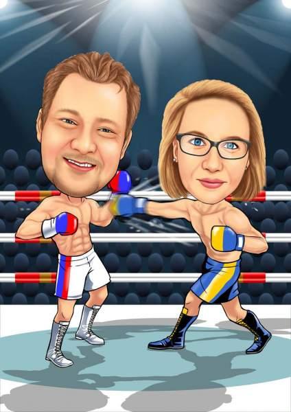 Kampf der Politiker