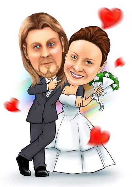 Vertrautes Ehepaar
