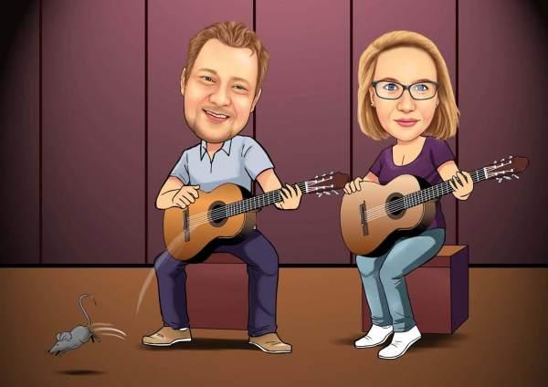 Gitarren Duett