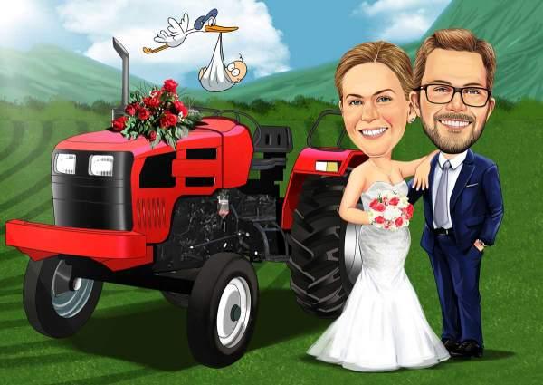 Die Traktor Hochzeit