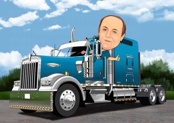 Amerikanischer Lastwagen/American Truck