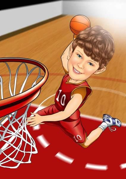 Junger Michael Jordan