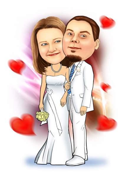 Schüchternes Ehepaar