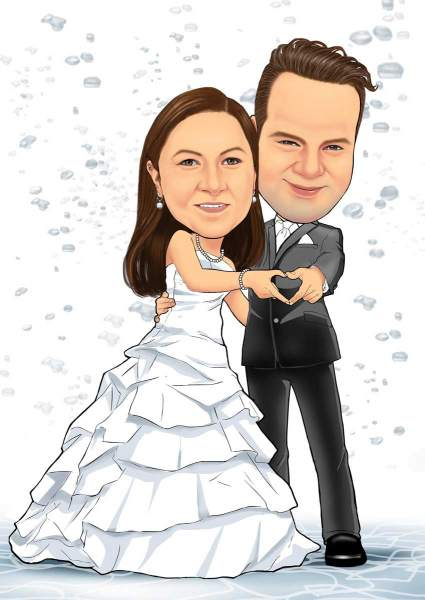 Unser erstes Hochzeitsbild