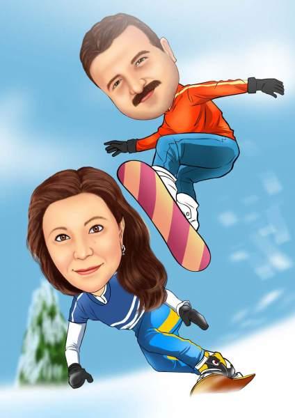 Snowboard spaß