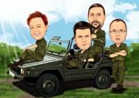Bundeswehr im Feld