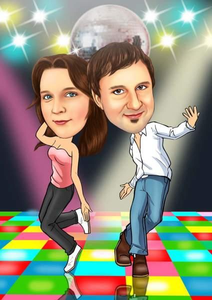 Coole dance moves