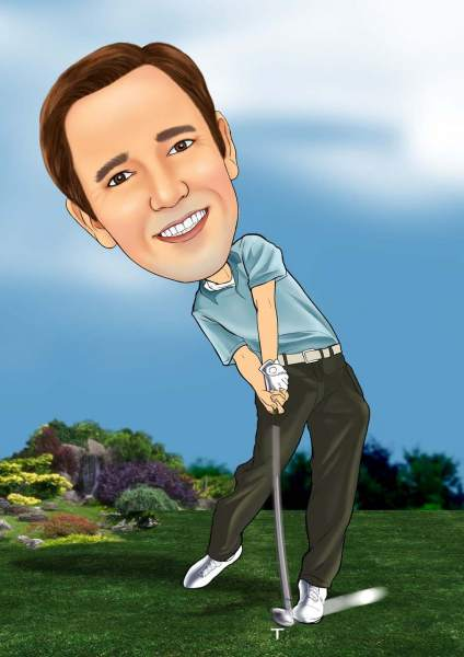 Der perfekte Golfschwung