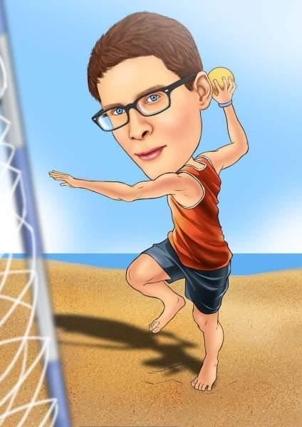 Handball Spielen
