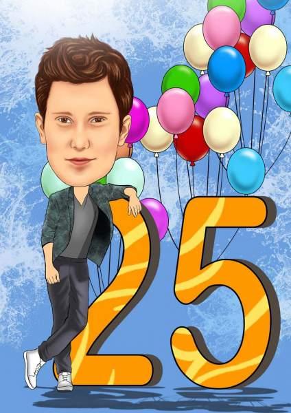 Gratuliere zum 25ten
