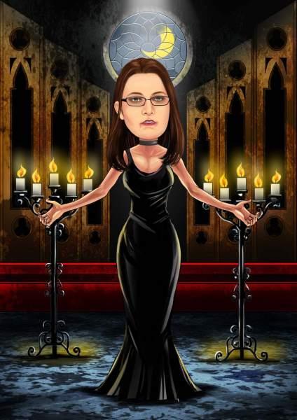 Gotik Frau