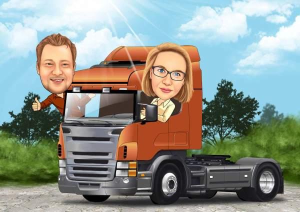 Truck Fahrer