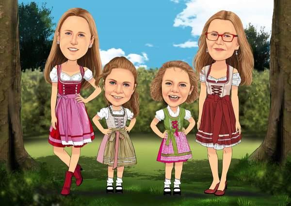 Bayerische Mädels