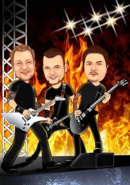 Hard Rock Konzert