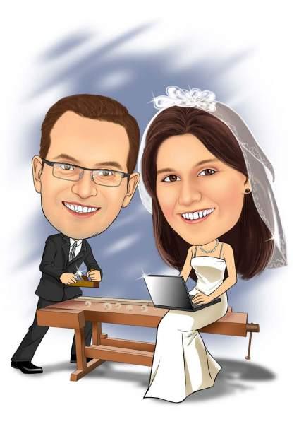 Hölzerne Hochzeit