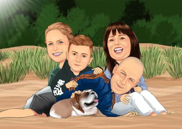 Alberne Familie