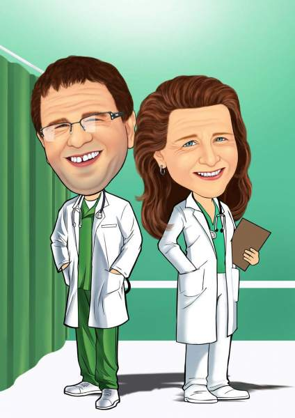 Ärzte bei der Arbeit