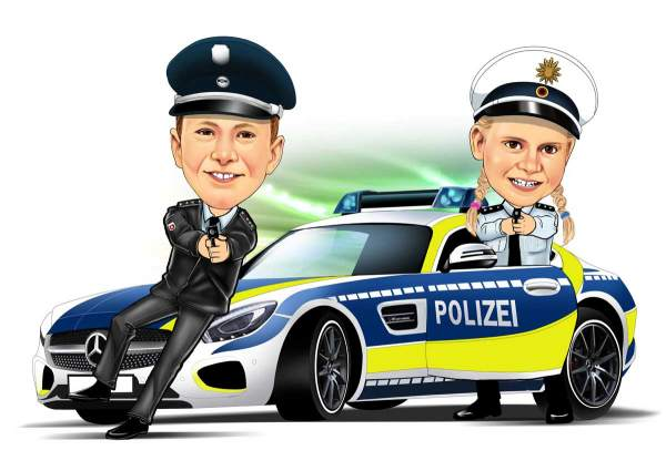 Highspeed Polizei