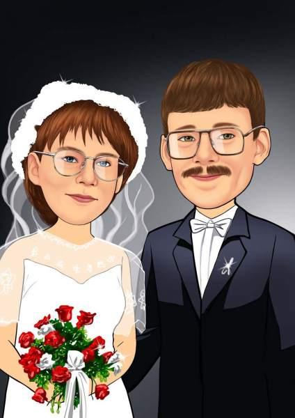 Unzertrennliches Eheband