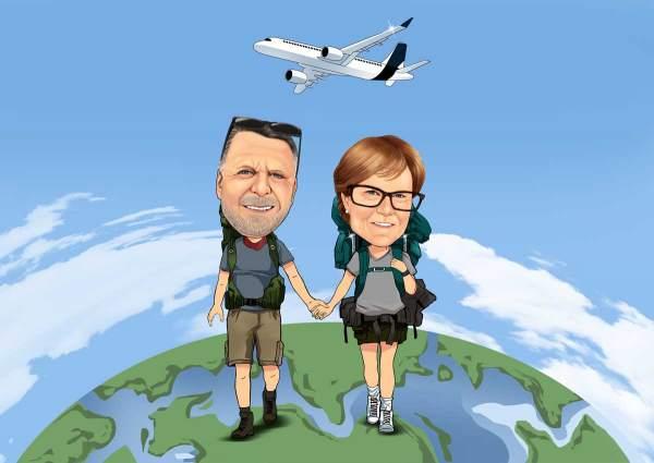 Mit dir auf Weltreise