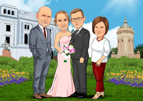 Meine Hochzeitsgesellschaft